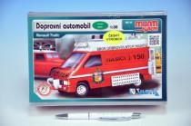 Stavebnica Monti 45 Fire Brigade-Renault Trafic 1:35