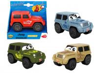 Auto Happy Jeep Wrangler Squeezy 11 cm - mix variant či barev