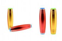 Fidget Tumbler kov 9,5cm antistresový váleček - mix barev