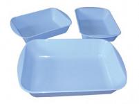 miska obaľovacie plastová, sada 3díly. - mix farieb