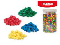 Paulinda Super Beads 5x6 mm 2600 ks s doplnkami v dóze - mix farieb