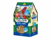 Zob PEPIK & FERDIK pro střední papoušky 1kg