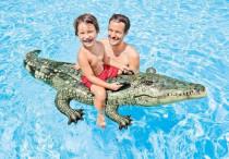Krokodíl nafukovací 170x86cm