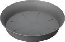 Plastia miska Tulipán - antracit 22 cm