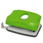 Děrovačka -2150GN plastová, na 15 listů, zelená