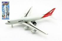 Letadlo plast na zpětné natažení 30cm