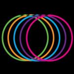 Svítící náhrdelník - mix variant či barev