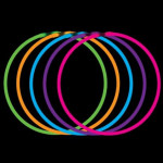 Svietiace náhrdelník - mix variantov či farieb