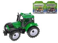 Traktor 12,5 cm na zotrvačník - mix farieb