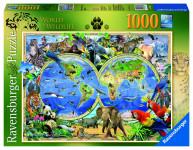 Svět divočiny; 1000 dílků