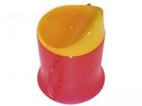 hrnček dojčenský 230ml plastový, TRA - mix farieb