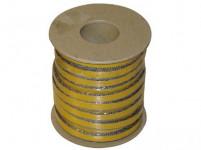 šnúra izolačné 8x2mm (500 ° C) lepiaca (25m)