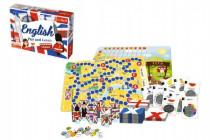 Vzdelávacie hra English Play and Learn v krabici 33x23cm