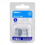 klínek č.1, 16x21mm (4ks)