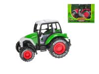 Traktor kov 14 cm zpětný chod - mix barev