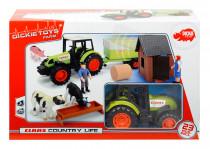 Sada farma s traktorem