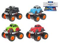 Auto kov 8,5 cm na velkých kolech zpětný chod - mix variant či barev