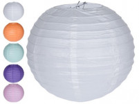 lampión PÁRTY 30cm papierový (3ks) - mix farieb
