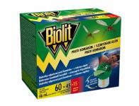Odparovač BIOLIT elektrický proti komárom 60 nocí 46ml