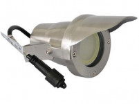 svietidlo LED 6,5 W, 520lm, MR20, IP67,3000K, teplé, Al ŠE + tienidlo, zapí