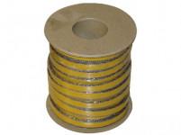 šnúra izolačné 12x4mm (500 ° C) lepiaca (25m)