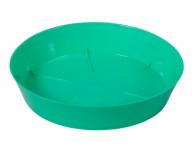 Podmiska pod kvetináč Mitu plastová modro zelená lesk d16cm