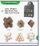 Hlavolamy dřevěné 3D