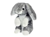 Zajačik plyšový sediaci 22 cm