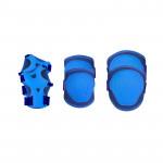 Spokey Buffer 3-dílná sada dětských chráničů, modré, vel. XS