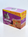Whiskas kapsa Menu zo 4 druhov mäsa 12x100g
