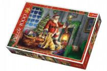 Puzzle koláž Vianoce Čas darčekov 1000 dielikov