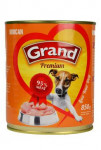GRAND konz. pes morčacie 850g