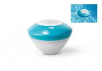 Bazénový vodotesný reproduktor s ľad svetlom a bluetooth plast dosah 30m