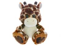 Žirafa plyšová 33 cm sediaci