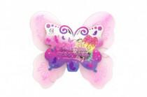 Krídla motýlie 39x36cm nylon v sáčku karneval