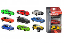 Autíčka kovová 3 ks Street Cars - mix variantov či farieb
