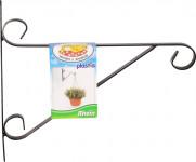 Držiak na závesný kvetináč - kovový Rhein 30cm