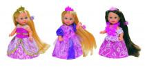 Bábika Evička Rapunzel, extra dlhé vlasy - mix variantov či farieb