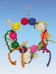 Hračka vták prírodné Kruh Nobby 5 x 24 cm