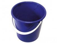 vedro 10l s mierkou plastové - mix farieb
