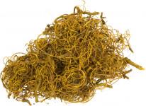 Dekorace - Curly Moss 1 - 30 g žlutý
