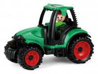 Auto Truckies traktor plast 17cm s figúrkou v krabici 24m +