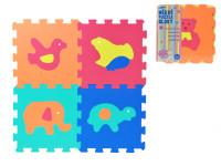 Penové puzzle Zvieratá 30x30cm