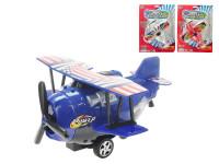 Lietadlo naťahovacie 16 cm - mix farieb