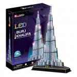 Puzzle 3D Burj Khalifa / led