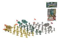 Vojáci s doplňky 70 ks