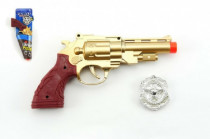 Pistole kolt klapací plast 22cm