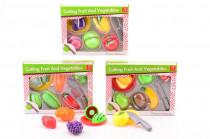 Magnetické krájanie ovocia a zelenina