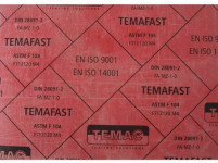 doska tesniace 210x297x2mm TEMAFAST