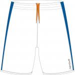 Spokey Fotbalové šortky bílo-modré vel. S